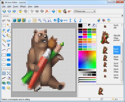 Sib Icon Editor 5.0