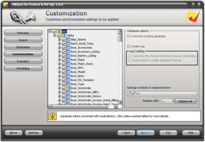 DBSync for Firebird and MS SQL 1.0.0
