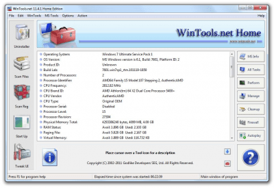 WinTools.net Home Edition 9.10.1