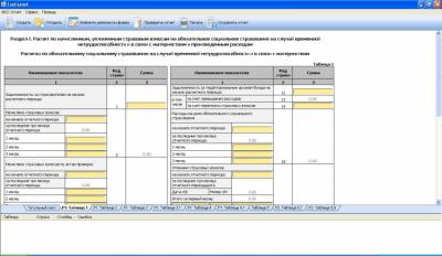 Форма 4-ФСС Отчет