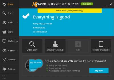 avast! Internet Security 19.2.4186.0