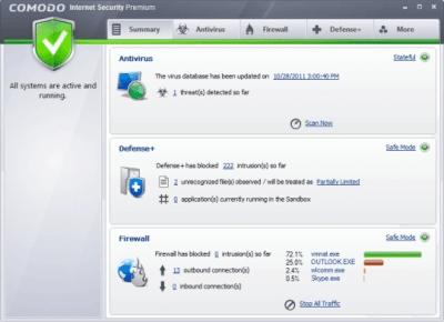COMODO Internet Security 11.0.0.6606