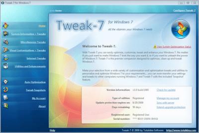 Tweak-7 1.0 Build 1250