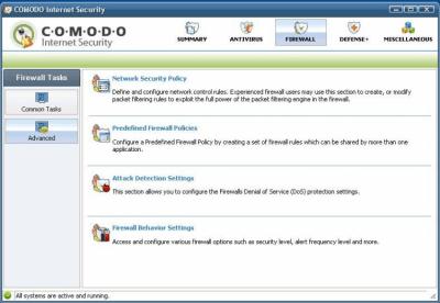 Comodo Personal Firewall 11.0.0.6606