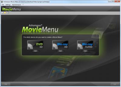 Ashampoo  Movie Menu 1.0.1