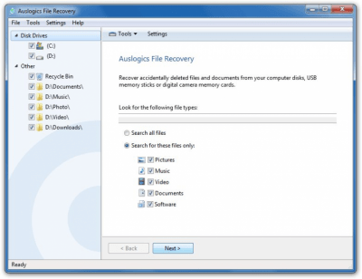 Auslogics File Recovery 8.0.17.0