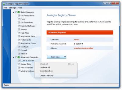 Auslogics Registry Cleaner 7.0.16.0