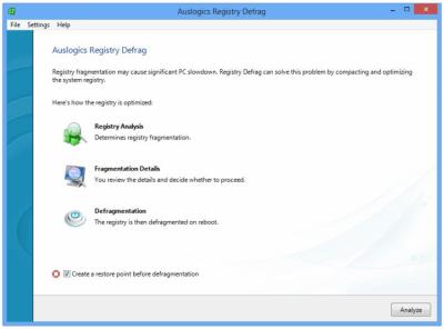 Auslogics Registry Defrag 11.0.17.0