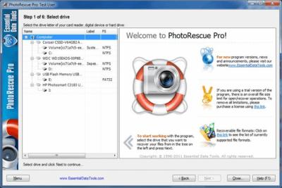 Digital PhotoRescue Pro 6.16