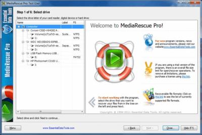 Digital MediaRescue Pro 6.16