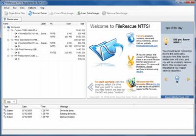 FileRescue for NTFS 4.16