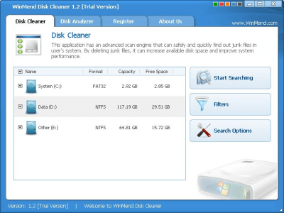 WinMend Disk Cleaner 2.1.0.0