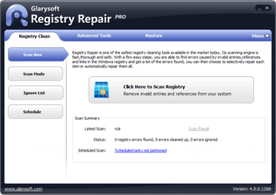Registry Repair 5.0.1.101