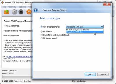 Accent RAR Password Recovery 3.7
