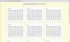 Скачать Календарь праздников на 2012 год