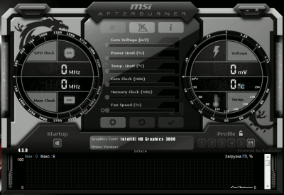 MSI Afterburner 4.5.0 Build 12819