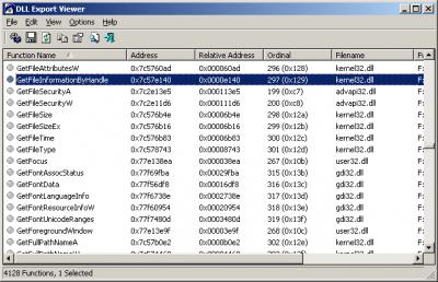 DLL Export Viewer 1.66