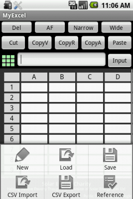 My Excel 1.5.0