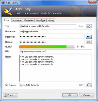KeePass Classic Edition 1.36