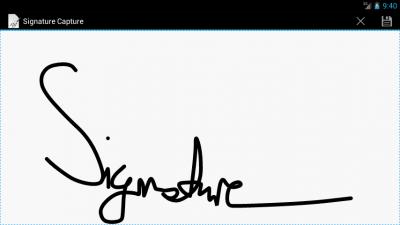 Signature Capture 7.2.3