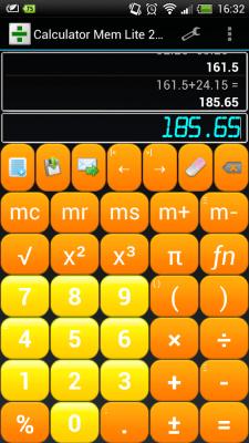 Калькулятор с памятью 4.0.2