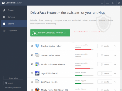 DriverPack Solution Online 17.7.116