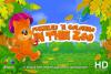 Скачать Детские пазлы и раскраска: В Зоопарке