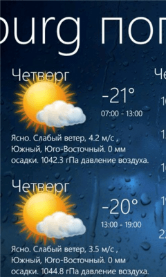 Weather View 3.5.1.0