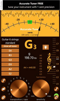 Accurate Tuner Free 1.0.0.0
