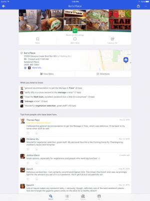 Foursquare 11.11