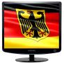 Скачать Заставка (скринсейвер) в виде флага Германии с гербом