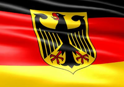 Заставка (скринсейвер) в виде флага Германии с гербом 2.1