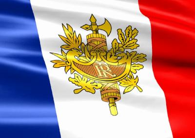 Заставка (скринсейвер) в виде флага Франции с гербом 2.1