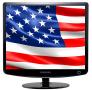 Скачать Заставка (скринсейвер) в виде флага США