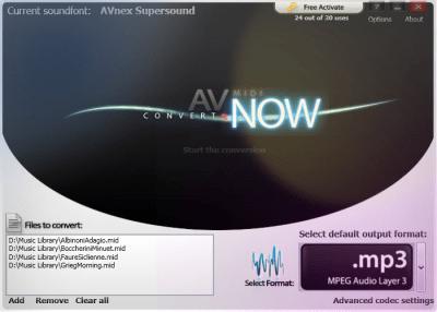 AV MIDI Converter 1.0