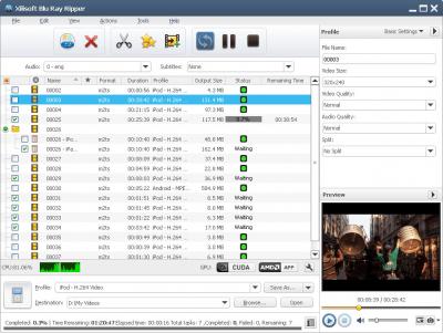 Xilisoft Blu-ray to DVD Converter 7.1.0