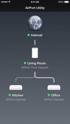 AirPort-утилита 1.3.4