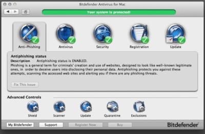 BitDefender Antivirus 3.0.6681
