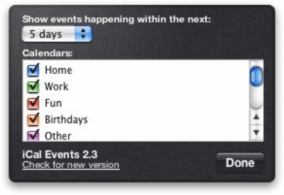 iCal Events 2.3