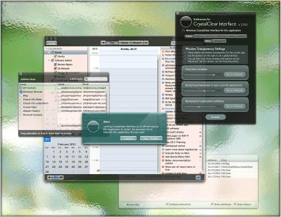 CrystalClear Interface 2.8.3