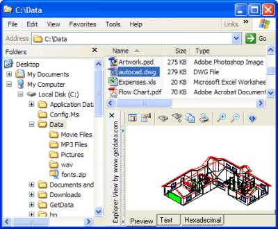Explorer View for Windows Explorer 4.4.2.1134
