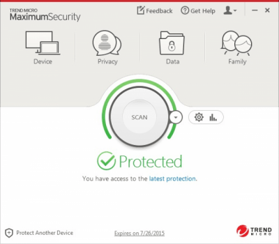 Trend Micro Internet Security 15.0.1172