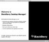 Скачать BlackBerry Desktop Manager