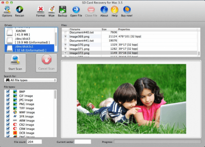 SD Card Recovery for Mac 3.5.6