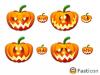 Скачать Halloween Emoticons