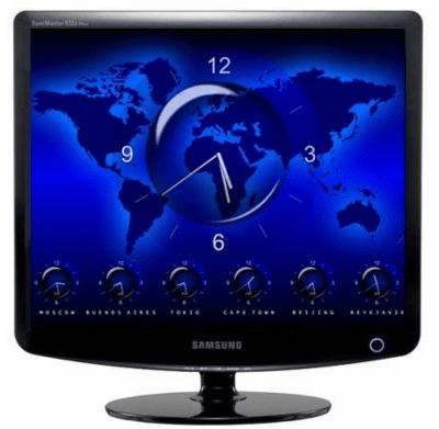 Заставка (скринсейвер) мировое время 2.1