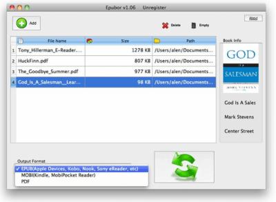 Mac eBook Converter 1.40.5.2