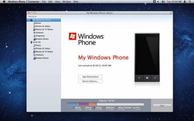Windows Phone 7 Connector 0.6