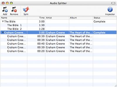 Audio Splitter 1.1.0