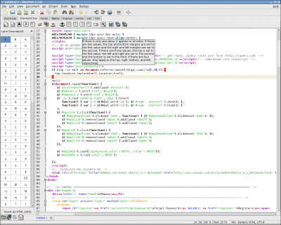 Bluefish Editor 2.2.9